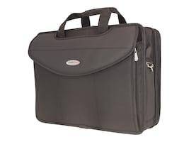 Mobile Edge 17.3 Premium V-Load Laptop Briefcase, Black, MEV17P, 35402042, Carrying Cases - Notebook