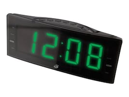 GPX Clock Radio w  Large 1.8 LED Display, C353B, 33171498, Clock Radios