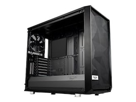 Fractal Design Chassis, Meshify S2 3x2.5 3.5 flex bays 4x2.5 bays 7+2 Expansion slots, FD-CA-MESH-S2-BKO, 36612199, Cases - Systems/Servers