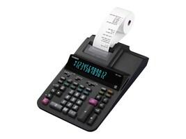 Casio Heavy Duty Printing Calculator, DR120R-BK, 36445976, Calculators