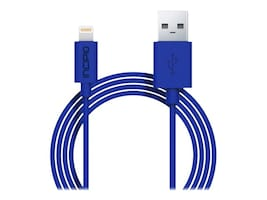 Incipio Lightning to USB Type A M M Charge Sync Cable, Blue, 1m, PW-189, 33020243, Cables