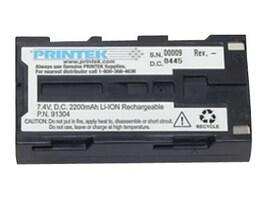Printek Battery, Lithium-Ion, 7.4V 2200mAh, for Printer, 91370, 8003311, Batteries - Other