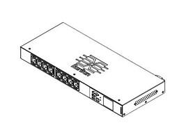 Raritan PDU  3.3KVA 208V 16A 1-ph 1U C20 Input (8) C13 Outlets, PX3-5180CR, 30573627, Power Distribution Units