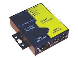 Brainboxes 2-Port RS422 485 Ethernet to Serial Adapter, ES-313, 15280156, Adapters & Port Converters