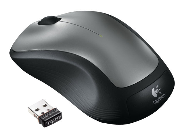 Logitech M310 Wireless Mouse, Gray, 910-001675, 11557584, Mice & Cursor Control Devices