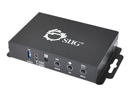 Siig HDMI to VGA & Audio Converter Scaler, CE-H21X11-S1, 16940689, Scan Converters