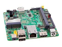 Intel Motherboard, UCFF Atom E3815 1.46GHz Max.8GB DDR3L 1xSATA 1xPCIe Mini GbE, 10 Pack, BLKDE3815TYBE, 17103313, Motherboards