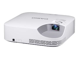 Casio XJ-V2 XGA DLP Projector, 3000 Lumens, White, XJ-V2, 31009489, Projectors