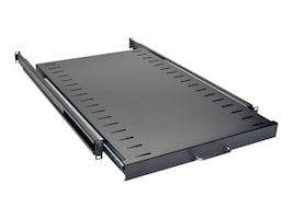 Tripp Lite SmartRack Standard Sliding Shelf 1U 50lb Capacity Black Finish, SRSHELF4PSL, 8880292, Rack Mount Accessories