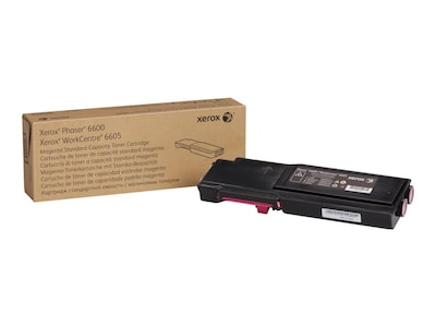 Xerox Magenta Standard Capacity Toner Cartridge for Phaser 6600 & WorkCentre 6605 Series, 106R02242, 14736271, Toner and Imaging Components - OEM