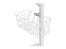Tryten 13 L x 6 W x 6 D Wire Basket for Nova 2 and Nova Go Medical Tablet Carts, White, T2519, 32113270, Mounting Hardware - Miscellaneous
