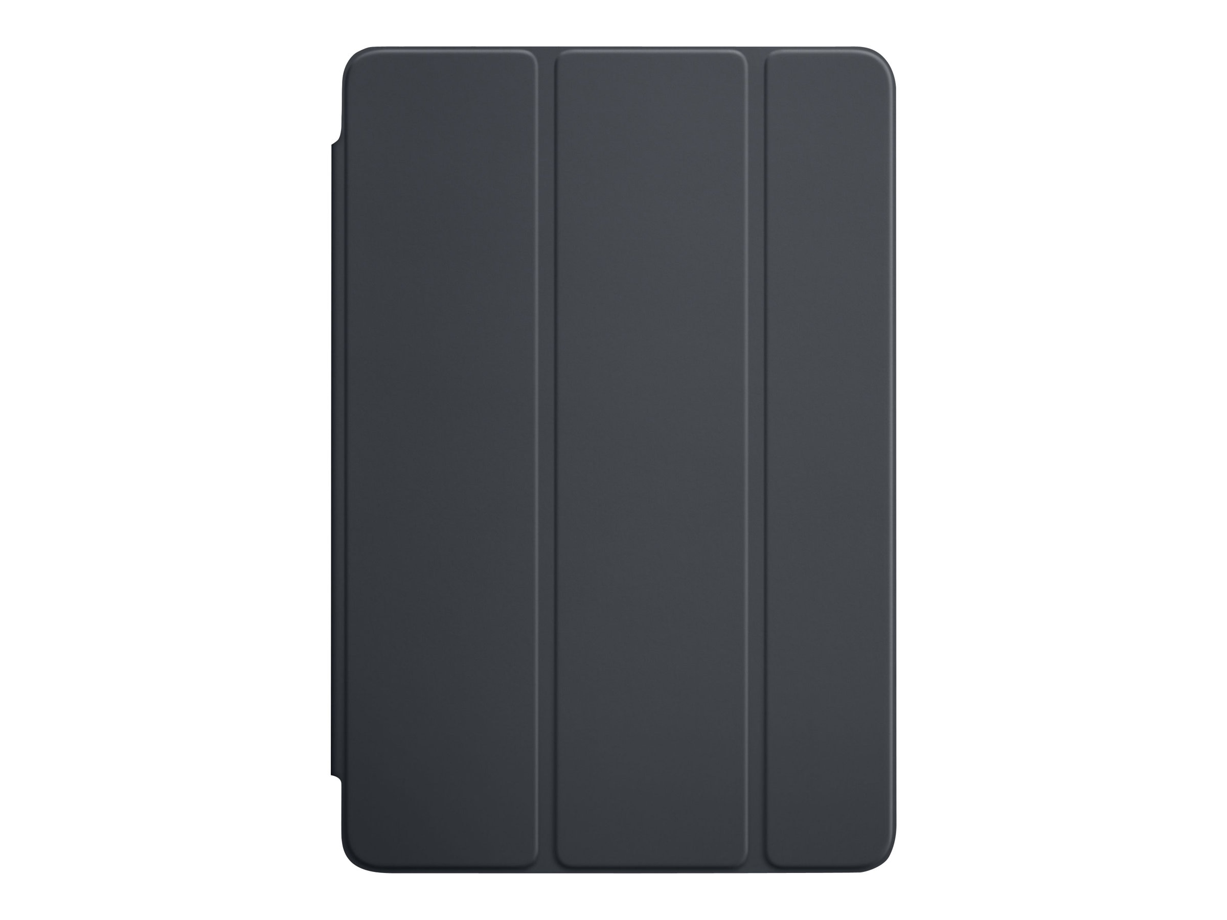 Apple iPad mini 4 Smart Cover, Charcoal Gray, MKLV2ZM/A, 30608607, Carrying Cases - Tablets & eReaders