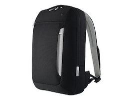 Belkin Slim Backpack for Laptops up to 15.4, Black Light Gray, F8N057-KLG, 31995549, Carrying Cases - Notebook