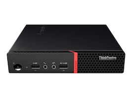 Lenovo ThinkCentre M715 Tiny Thin Client 2nd Gen AMD Pro A6-8570E 3.0GHz 4GB 32GB SSD R5 ac BT DP LeTOSv2, 10VL0003US, 36579544, Thin Client Hardware