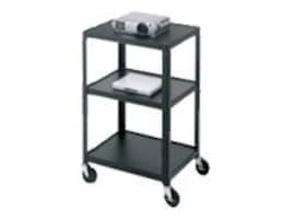 Bretford Manufacturing Adjustable AV Cart with 4 Casters, Green, A2642-PL, 9098913, Stands & Mounts - AV
