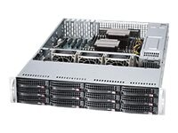 Supermicro SSG-6028R-E1CR12N Main Image from Right-angle
