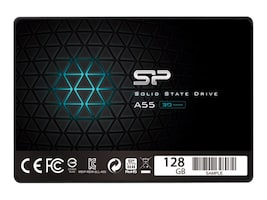 Silicon Power TLC Solid State Drive, SP128GBSS3A55S25, 37251444, Solid State Drives - Internal