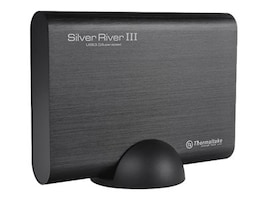 Thermaltake ThermalTake Silver River III 5G Storage Enclosure, ST-002-E31U3U-A1, 34696907, Hard Drive Enclosures - Single
