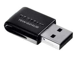 TRENDnet Wireless N USB Adapter, TEW-624UB, 7731421, Wireless Adapters & NICs
