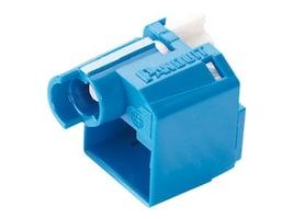 Panduit Recessed RJ-45 Plug Lock-in Device, Blue (10-pack w  Tool), PSL-DCPLRX-BU, 30721280, Premise Wiring Equipment