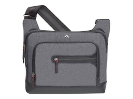 Brenthaven Collins Courier Bag for Laptops 13, Black, 1953, 31841806, Carrying Cases - Notebook