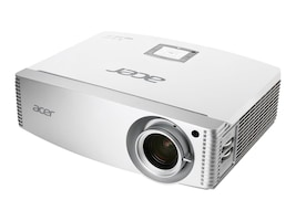 Acer H5382BD WUXGA 3D DLP Projector, 3300 Lumens, White, MR.JNQ11.00A, 33398908, Projectors