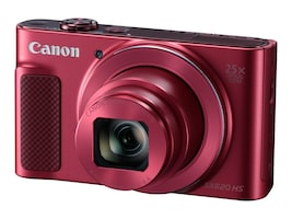 Canon PowerShot SX620 HS Digital Camera, 20.2MP, 25x Zoom, Red, 1073C001, 34502316, Cameras - Digital