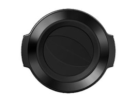 Olympus Auto Open Lens Cap for M.Zuiko Digital ED 14-42mm f 3.5-5.6 EZ Lens, Black, V325373BW000, 16793076, Camera & Camcorder Lenses & Filters