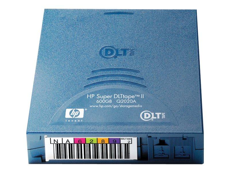 HPE 300 600GB 1 2 630m SDLT II Tape Cartridge, Q2020A, 5667947, Tape Drive Cartridges & Accessories
