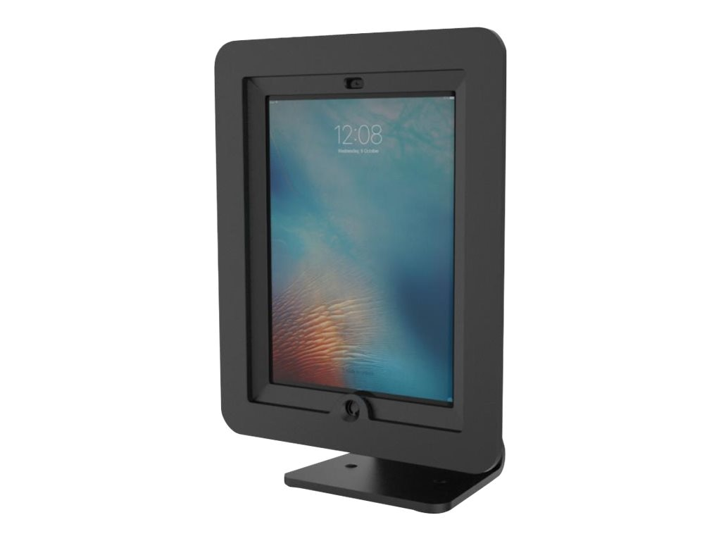 Compulocks iPad Enclosure Kiosk , Rotate and Swivel Desk Stand,  iPad Kiosk , All-In-One 360, fits iPad 2 3 4,, AIO-B, 16209431, Locks & Security Hardware