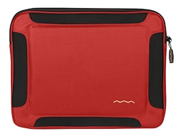 Shaun Jackson Higher Ground Flak Jacket Sleeve for 13 Notebook, Red, FJ013RD, 20461269, Carrying Cases - Notebook