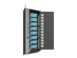 Compulocks 8-Unit WalliPad Low-Profile Charging and Storage Unit, WALLIPAD8B, 17565930, Charging Stations