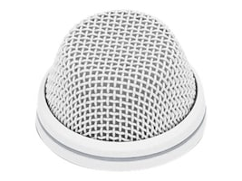 Sennheiser SpeechLine Wired Microphone Cardioid Install Boundary Mic w  LED, White, 505610, 18373411, Microphones & Accessories