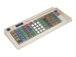 Logic Controls POS Layout 66-Key Programable, USB, KB5000U-GY, 33936104, Keyboards & Keypads