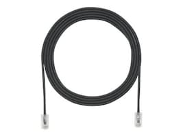 Panduit CAT6A 28AWG Patch Cable, Black, 3ft, UTP28X3BL, 30968522, Cables