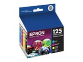 Epson 125 Combo-Pack Ink Cartridges, T125120-BCS, 11888631, Ink Cartridges & Ink Refill Kits - OEM