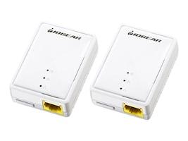 IOGEAR Powerline Nano Ethernet Bridge Kit, GPLB200K, 28891141, Network Adapters & NICs