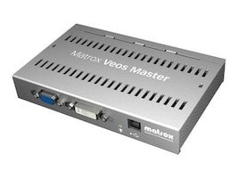 Matrox Veos Master Unit, Silver, VS-MSTR-0F, 8880111, Video Extenders & Splitters