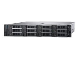 Dell PowerEdge R540 2U RM (2x)Xeon 8C Silver 4208 2.1GHz 32GB 1TB 12x3.5 HP bays H730P 2xGbE 2x750W NoOS, 0J1V5, 37384917, Servers