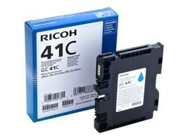 Ricoh Cyan GC41C Print Cartridge, 405762, 13930039, Ink Cartridges & Ink Refill Kits - OEM