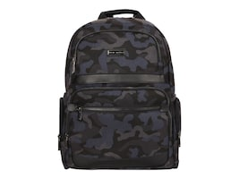 Eco Style Tech Savvy Backpack for 16 Notebook + Tablet, Urban Camo, ETSV-BP15, 34298095, Carrying Cases - Notebook