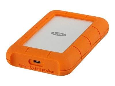 Seagate 4TB Lacie Rugged USB 3.1 Type C Portable Hard Drive, STFR4000800, 34323684, Hard Drives - External