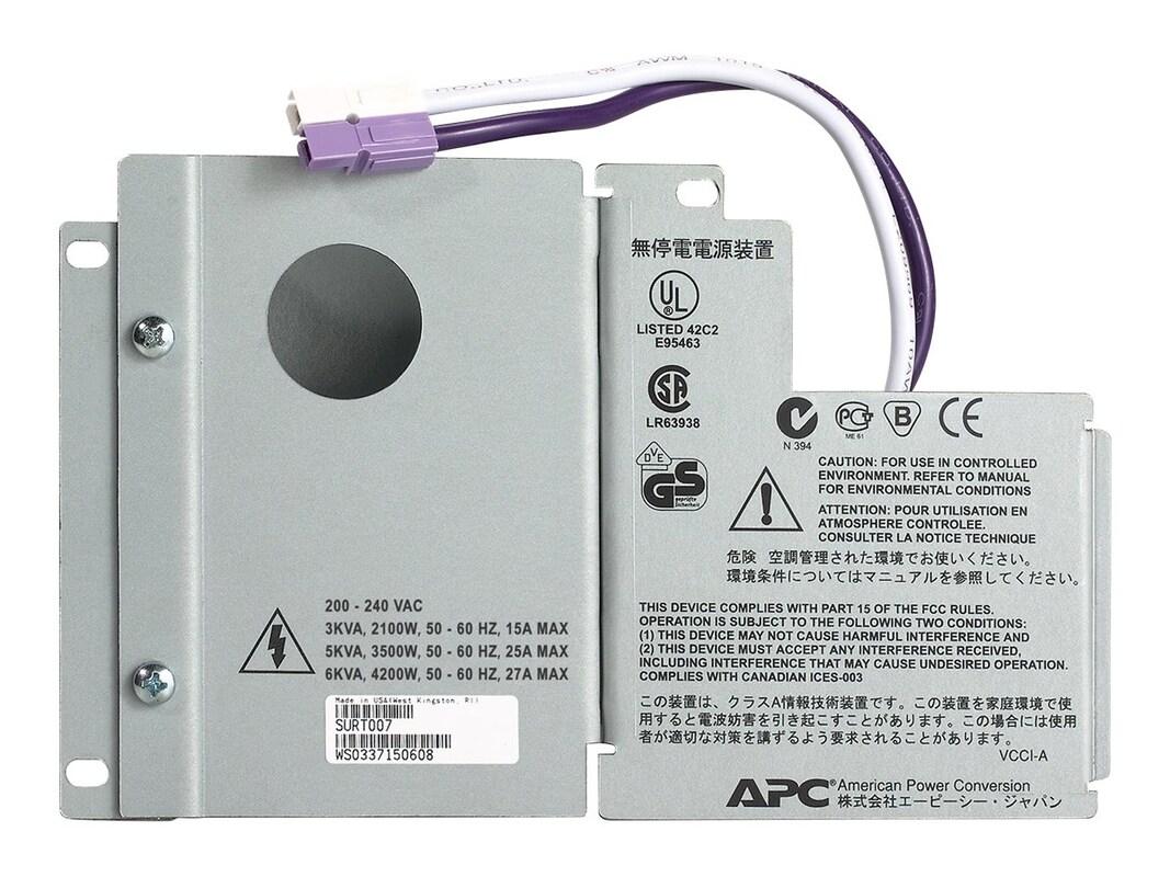 APC Smart-UPS RT 3000 5000VA Output Hardwire Kit