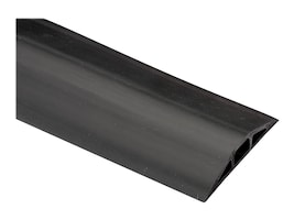 Black Box 0.5 x 0.312 DIA FloorTrak Cable Cover, Black, 10ft, FK210-R2, 36110797, Premise Wiring Equipment