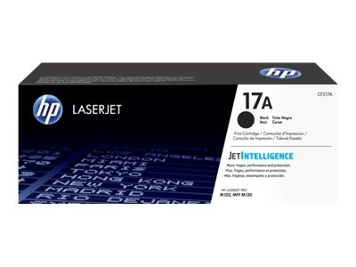 HP 17A (CF217A) Black Original LaserJet Toner Cartridge, CF217A, 32714260, Toner and Imaging Components - OEM