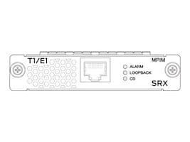 Juniper Networks 1-Port T1 E1 Mini-PIM SRX300 550, SRX-MP-1T1E1-R, 31619210, Network Transceivers