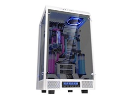 Thermaltake Chassis, The Tower 900 E-ATX 6x3.5 Bays 2x2.5 Bays 1x5.25 Bay Window, Snow, CA-1H1-00F6WN-00, 33401062, Cases - Systems/Servers