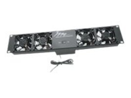 Middle Atlantic Ultra Quiet Fan Panel, UQFP-4RT, 24286488, Cooling Systems/Fans