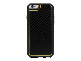 Griffin Identity for iPhone 6 4.7, Black Yellow, GB39687, 17700791, Carrying Cases - Phones/PDAs