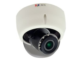 Acti 3MP Indoor Day Night Superior WDR 4.3x Zoom Dome, E618, 31958879, Cameras - Security
